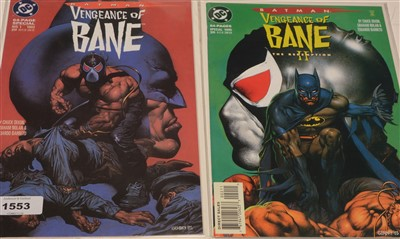 Lot 1553 - Batman Vengeance of Bane Special and Vengence of Bane II