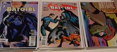 Lot 1554 - Batgirl Year One mini series and other related titles