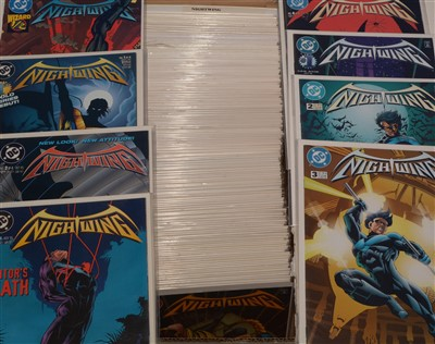 Lot 1540 - Nightwing sundry issues.