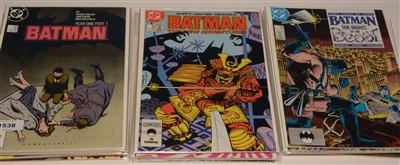 Lot 1538 - Batman No's. 404-425