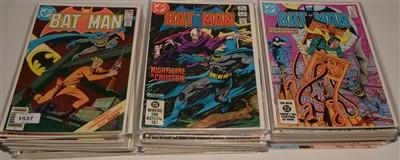 Lot 1537 - Batman No's. 325-356 and 358-403