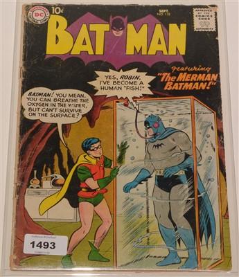 Lot 1493 - Batman No. 118