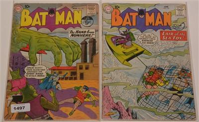 Lot 1497 - Batman No's. 130 and 132