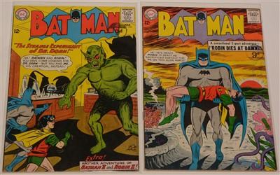 Lot 1503 - Batman No's. 154 and 156.