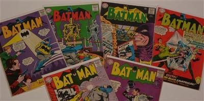 Lot 1507 - Batman No's. 168, 169, 170, 172, 173 and 174