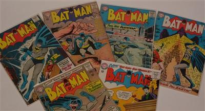 Lot 1506 - Batman No's. 162, 163, 164, 165, 166 and 167