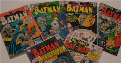 Lot 1508 - Batman No's. 175, 176, 177, 178, 179 and 180