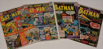 Lot 1510 - Batman No's. 182 and 185