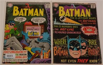 Lot 1511 - Batman No's. 183 and 184
