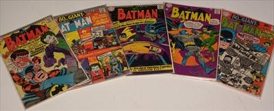 Lot 1512 - Batman No's. 186, 187 and 188