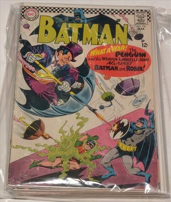 Lot 1515 - Batman No's. 190, 191, 192, 193, 194, 195, 196 and 199.
