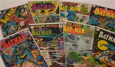 Lot 1517 - Batman No's. 201-209 inclusive