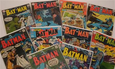Lot 1518 - Batman No's. 210-219 inclusive