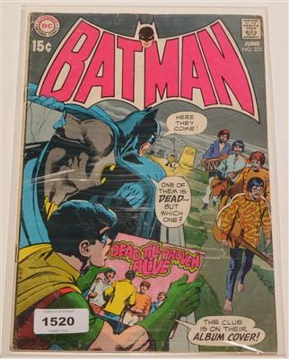Lot 1520 - Batman No. 222