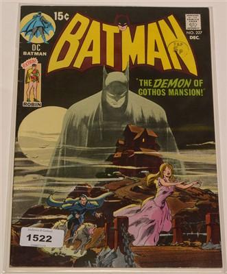 Lot 1522 - Batman No. 227