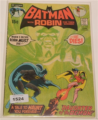 Lot 1524 - Batman No. 232