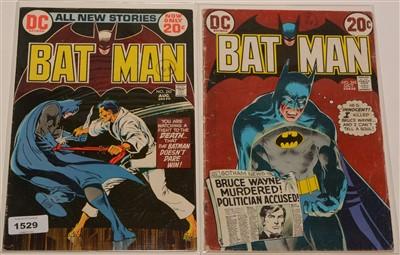 Lot 1529 - Batman No's. 243 and 245