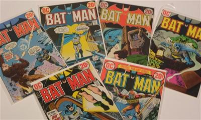Lot 1531 - Batman No's.  246, 247, 248, 249, 250 and 252