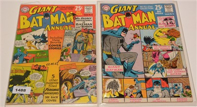 Lot 1488 - Batman Giant Annual No's. 4 and 5