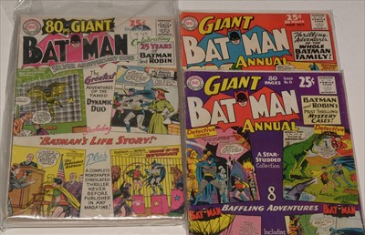 Lot 1489 - Batman Giant Annual No's. 6 and 7
