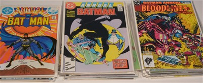 Lot 1485 - Batman Annual No. 8 and sundry other Batman Annuals