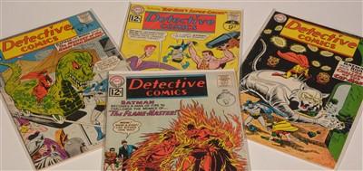 Lot 1431-Detective Comics No's. 308, 309, 310 and 311