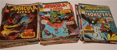 Lot 1169-Dracula Lives (British Marvel)