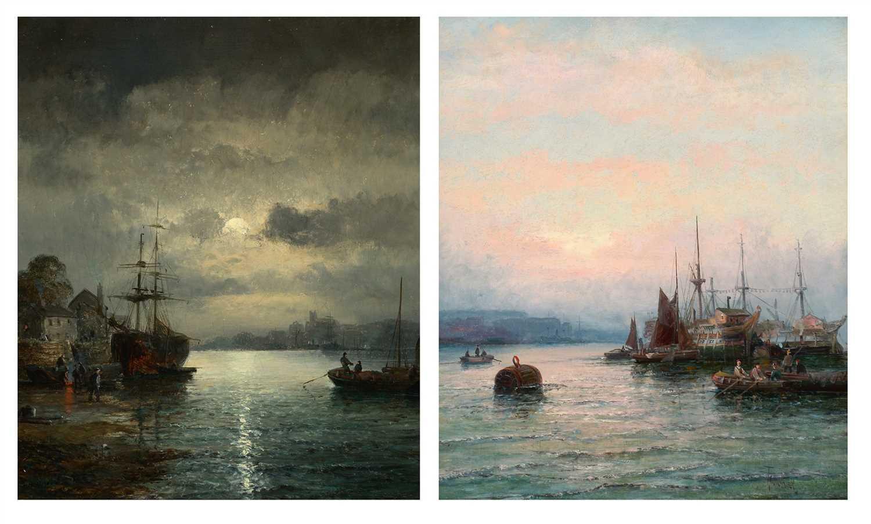 821 - William Thornley - oil.