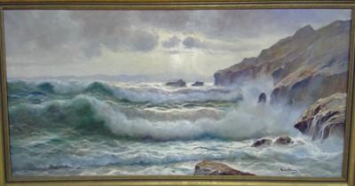 Lot 837 - Guido Odiezna - oil on canvas
