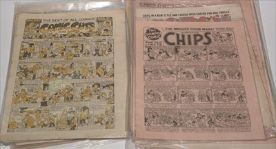 Lot 13-Mid 20th Century British comics, including...