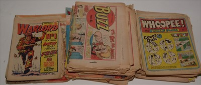 Lot 11-The Beezer, The Topper and Buzz sundry 1970's...