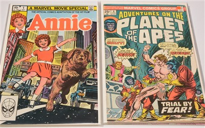 Lot 952-Annie; and Adventures On The Planet Of The Apes