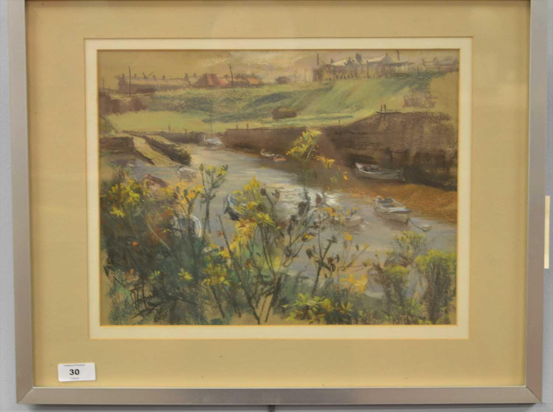Lot 30-Walter Holmes - watercolour.