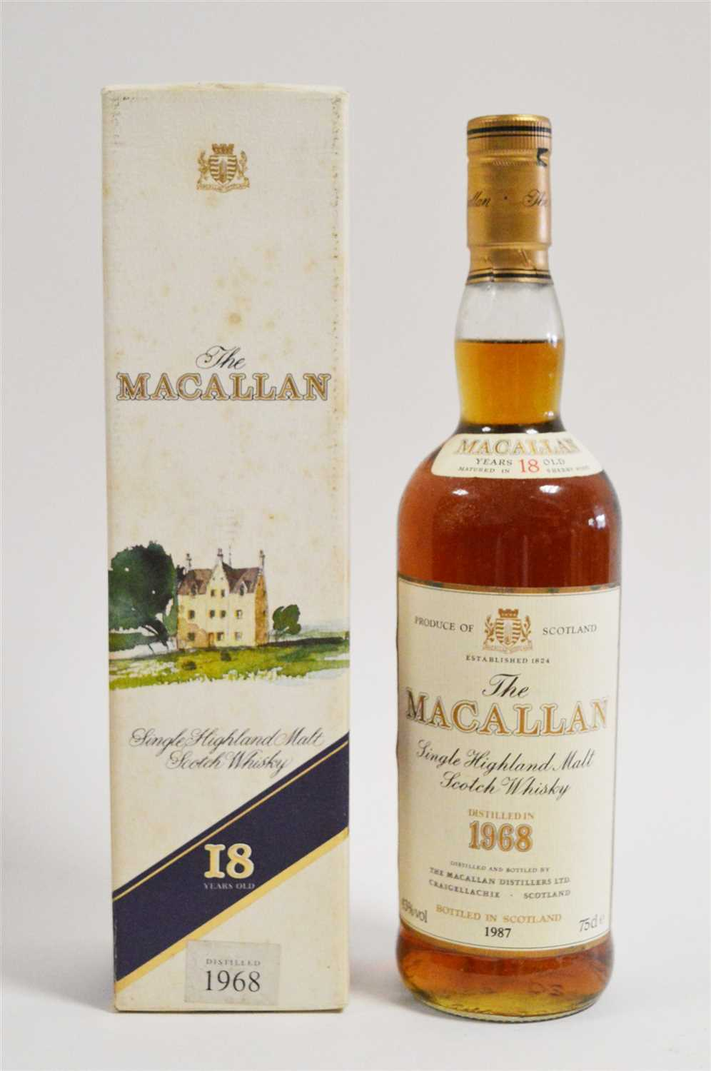 Lot 374-Macallan whisky
