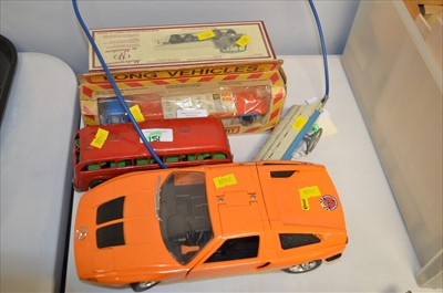 Lot 134 - Diecast and other vehicles