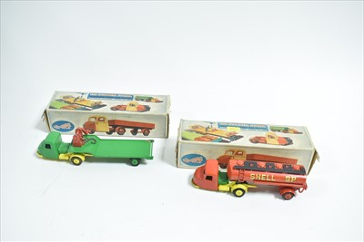 Lot 152 - Two Crescent Toys Scammell Scarabs