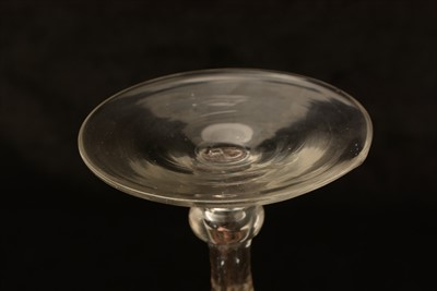 Lot 616-Newcastle Royal Coat of Arms wine glass.