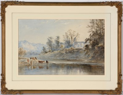 Lot 806 - Edward Tucker, jnr. (Edward Arden) - watercolour.
