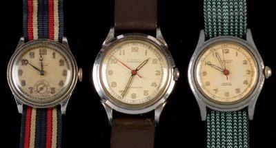 Lot 5-Three vintage watches.