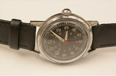Lot 6-Two Rotary military style watches.