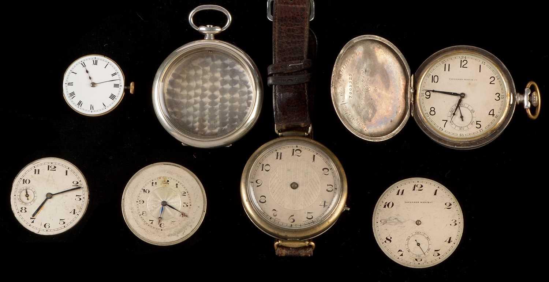 Lot 17 - Miscellaneous pocket watch movements.