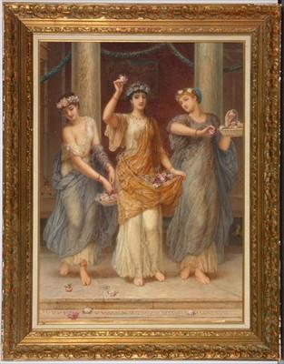Lot 691-Auguste Jules Bouvier - watercolour.