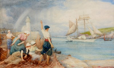 Lot 715-Robert Walker Macbeth - watercolour.