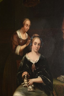 Lot 787-Attributed to Gerard Dow (Gerrit Dou)