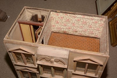 Lot 1031-Christian Hacker, Nuremburg: a 19th Century four-storey doll's house.