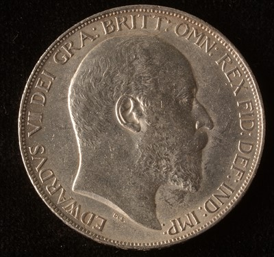 Lot 1006-Edward VII crown