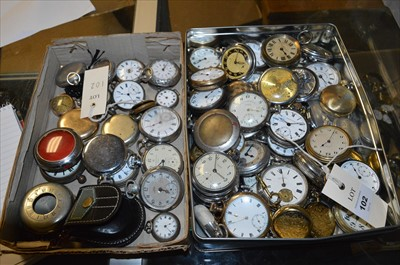 Lot 102-Pocket Watches