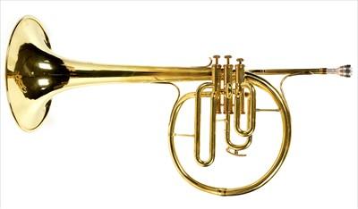 Lot 126 - Amati Brass Mellophone