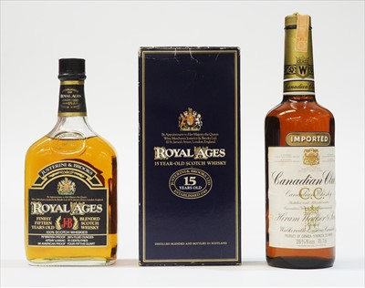 Lot 345-Two whiskies