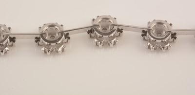 Lot 82-Diamond bracelet